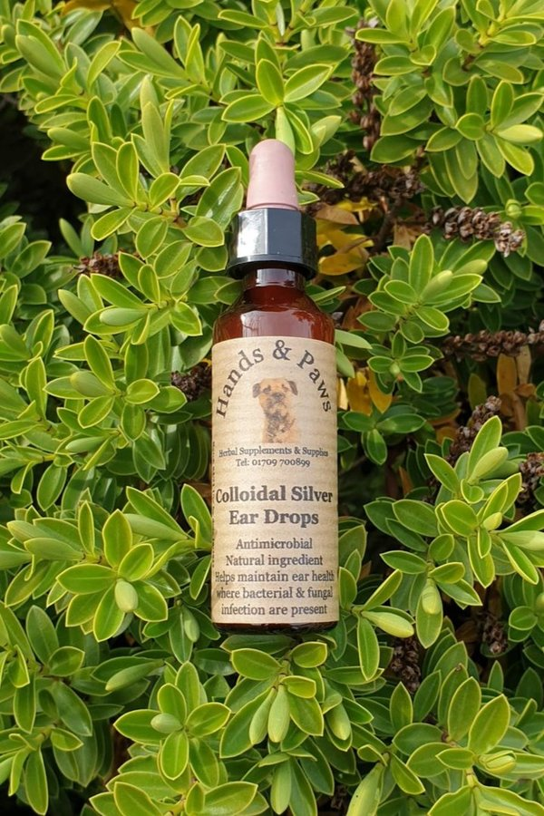 Hands & Paws Colloidal Silver Ear Drops