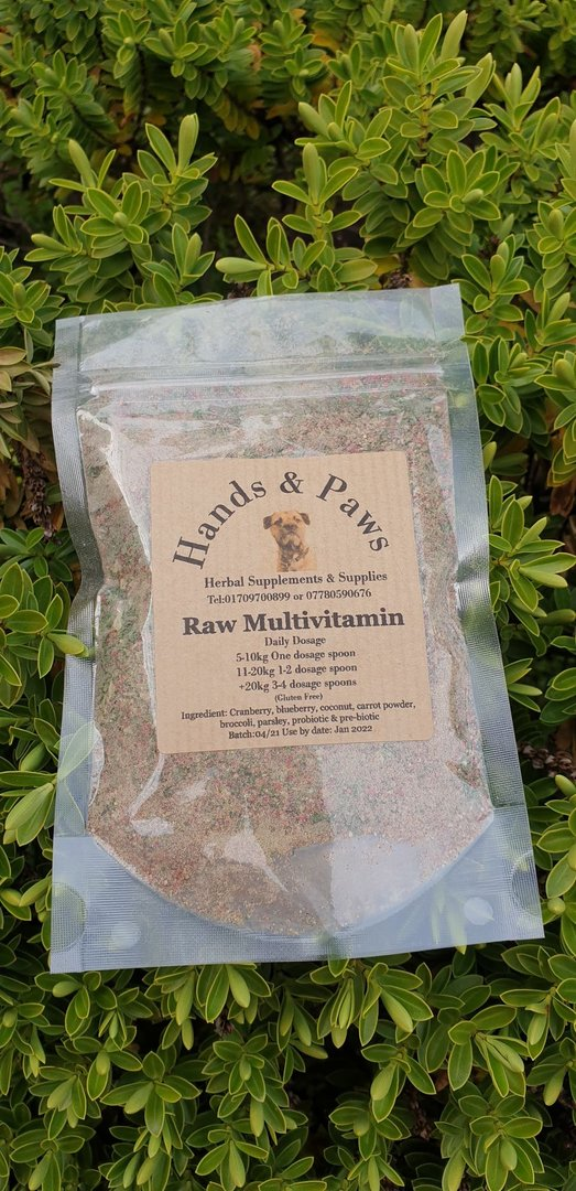 Raw Mulitivitamin